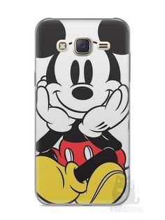 Capa Capinha Samsung J7 Mickey Mouse #2