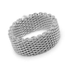 Sterling Silver Somerset Mesh Ring