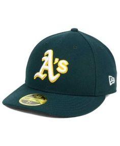 New Era Oakland Athletics Low Profile Ac Performance 59FIFTY Cap - Green 7 3/8