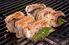 Ricetta - Involtini di carne alla siciliana - Le ricette al Barbecue di BBQ4All