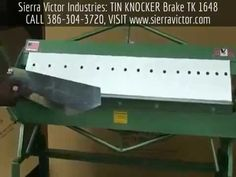 Sierra Victor Industries: TIN KNOCKER Brake TK 1648, For more info CALL 386-304-3720,  VISIT http://sierravictor.com/index.php?dispatch=products.view&product_id=1474