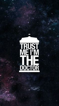 "Gain the trust of everyone around you with the ""Trust Me I'm The Doctor"" Doctor Who T-shirt. Doctor Who Tardis, Decimo Doctor, Serie Doctor, I Am The Doctor, Doctor Who Art, Doctor Who Quotes, Eleventh Doctor, Doctor Who Wallpaper, Tardis Wallpaper"