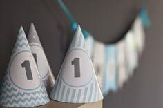 Misz Masz Myszy i Rysia: Urodzinowy zestaw Paper garland, birthday hats