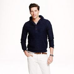 J.Crew - Heathered cotton hoodie