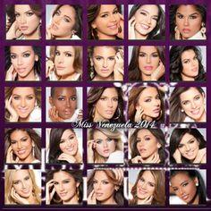 Candidatas al Miss Venezuela 2014..