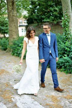Cymbeline Wedding Dress for a French Bride