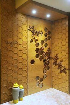 Ideas Main Entrance Door Design Indian For 2019 Main Entrance Door Design, Home Entrance Decor, Entrance Foyer, Front Door Design, House Entrance, Door Design Interior, Foyer Design, Ceiling Design, Home Interior
