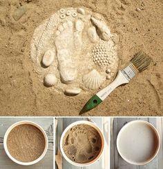 Como hacer fosiles en casa