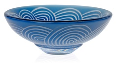 ** Ingeborg Lundin, (Swedish, 1921-1992), Kosta, Ariel Glass Vase.