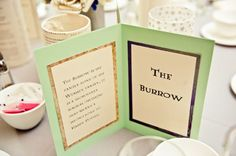 See more of this Harry Potter wedding here.