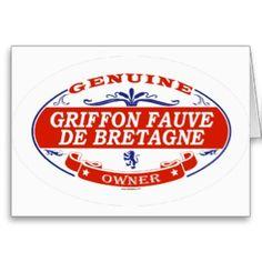Griffon Fauve De Bretagne  Card