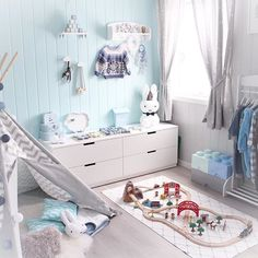 If you need us well be right here admiring this gorgeous playroom by @christal19 #kidkraftkids