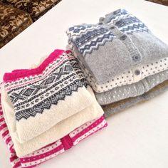 Norwegian knitting.