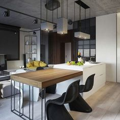 Modern Kitchen #kitchen #interior #interiors #interiordesign #design #architecture