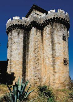 Castillo Granadilla, Cáceres, España