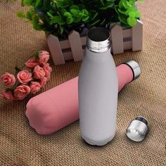 18oz KING DO WAY Vacuum Stainless Steel Water Bottle Bowling Double Wall Vacuum Insulation Cup at Banggood