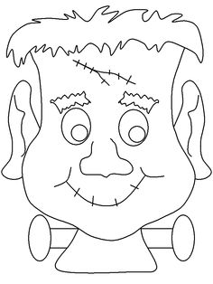 Frankenstein Coloring Print out