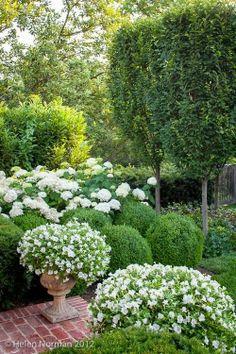 NINE + SIXTEEN: Patio + Garden Inspiration | White + Green