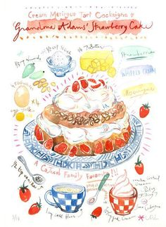 Guacamole Recipe Discover Custom recipe painting Would you like to have your favorite recipe or your own familys famous recipe on your kitchen wall ? Or isnt it the perfect gift for any food lover.This list Watercolor Food, Watercolor Paintings, Original Paintings, Watercolour, Recipe Drawing, Food Sketch, Famous Recipe, Fanarts Anime, Food Drawing