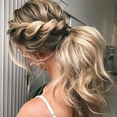 Elevate that PONY! gorgeous ROPE BRAID created by @emmachenartistry @emmachenartistry Hair on @kaywalks using @h2dhaircare ➕ @nakhair ➕ @adorneme ➕ Colour from @chantelle_vivalablonde from @vivalablonde ™@emmachenartistry