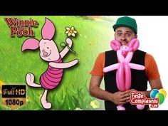 Piglet Balloon - Scultura con Palloncini Pimpi - Pimpi Balloon - Winnie the Pooh - Oggi vedremo come realizzare una scultura di palloncini modellabili a forma di Pimpi! Il timido amichetto di Winnie the Pooh.