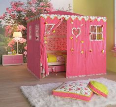 Kids Rooms Bunk Bed Tents On Pinterest Bunk Bed Tent