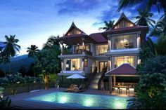 Oh, you know, just our little vacation home for when we become billionaires... One can dream aahhhhh.....