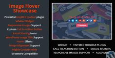 Increase social sharing to boost your website traffic with Wordpress Image Hover Showcase. This plugin allows you to easily add social share icons on every images you've added via wordpress editor.