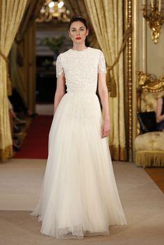SantosCostura vestido de novia bridal Weeding 2016, alta costura. @voguespain @santoscostura   www.santoscostura.com