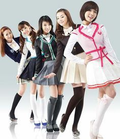 Waves...涟漪: Korean High School Uniform and April Fools