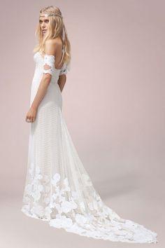 Rue De Seine Seven Gown available at The Bridal Atelier || www.thebridalatelier.com.au