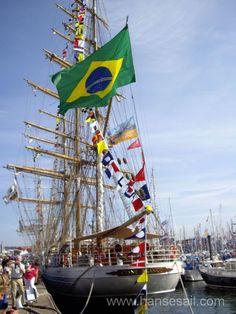 "Tall Ship ""Cisne Branco"" at Hanse Sail Rostock, (c) Klaus-Dieter Block"