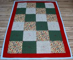 A quilt for charity.