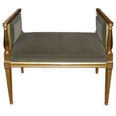 Small 1940s Bench | From a unique collection of antique and modern benches at https://www.1stdibs.com/furniture/seating/benches/