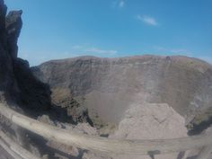 Il Vesuvio, Naples, Photo with GoPro, No Filter