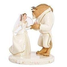 """wedding Dreams' Beauty And The Beast Cake Topper By Lenox $144.50 ""Wedding Dreams' Beauty and the Beast Cake Topper by Lenox"
