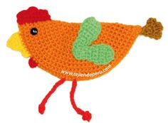 gallina en crochet - crochet hen