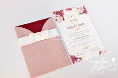 Convite rosa de Plim Papier   Foto 16