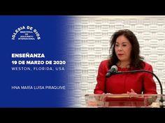 Enseñanza: Hna. María Luisa Piraquive - 19 marzo 2020. - IDMJI - YouTube