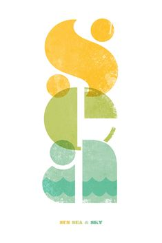 'Sea' Graphic Print | by DavidEmery