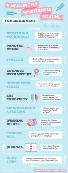 Mindfulness routine