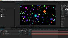 After Effects Tutorial - Animating Confetti with Trapcode Particular