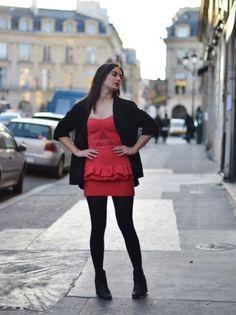Concours - En rouge et noir par @Laura Oupas