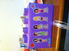 Lego Friends Pull String Birthday Party Piñata