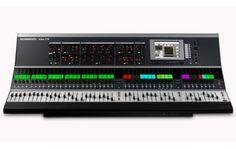 Allen & Heath iLive-176  studio control surface.