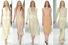 second from the left (from Calvin Klein Spring 2012)