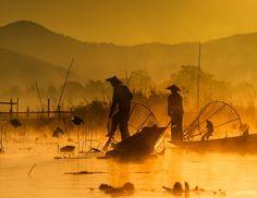 fishing @ inle lake (2) by hamni juni on 500px