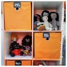 Via @indigomusedesigns... D A Y  1 8 of #marchmeetthemaker #shelfie - Just a few of my stuffies (including #IndigoMuseFriends) hanging out on the new shelves and bins I've set up in my revamped office. #IndigoMuseDesigns #toys #dolls #kids #cute #sweet #softies #stuffies #plushies #genderneutraltoys #multiculturaltoys #handmade #lifeisbetterwithafriend #bhavanashaktifriends #twee #instadolls #dollsofinstagram #ooak #handmadetoys #handmadedolls #dollmaker