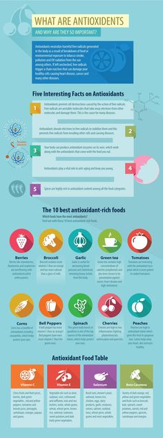 What Are Antioxidants And Why Are They So Important? (Infographic)