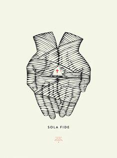 Sola Fide, Upper Leg Tattoos, Worship Wallpaper, 5 Solas, Sola Scriptura, Protestant Reformation, Church Logo, Jesus Christ Images, Reformed Theology